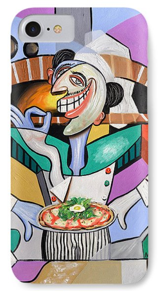 The Personal Size Gourmet Pizza Phone Case by Anthony Falbo