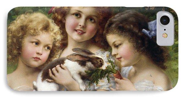 The Pet Rabbit IPhone Case by Emile Vernon
