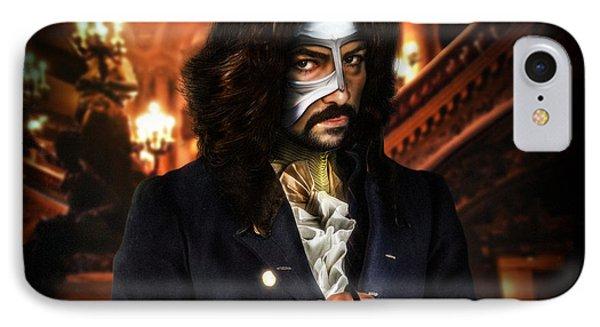 The Phantom Of The Opera IPhone Case by Alessandro Della Pietra