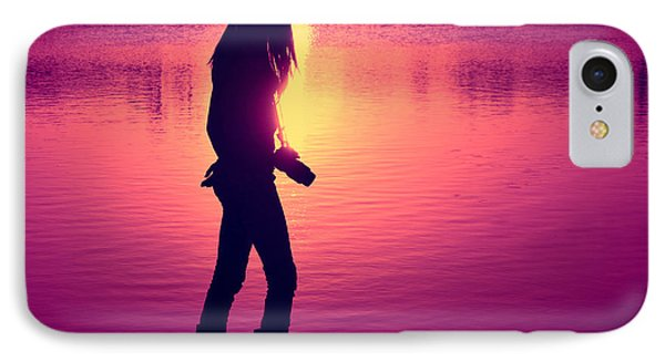 The Photographer Phone Case by Laura Fasulo