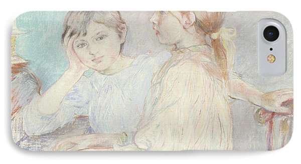 The Piano Phone Case by Berthe Morisot