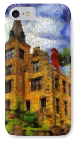 The Piatt Castle IPhone Case by Dan Sproul