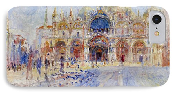 The Piazza San Marco Phone Case by Pierre Auguste Renoir