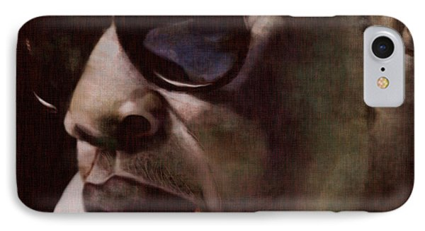 The Pied Piper Of Intrigue - Jay Z IPhone 7 Case by Reggie Duffie
