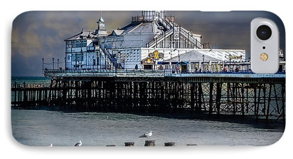 The Pier At Eastbourne Phone Case by Chris Lord