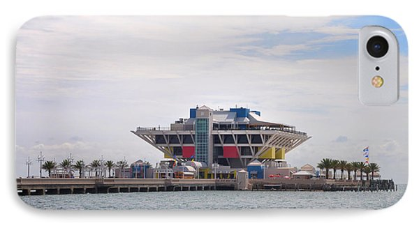 The Pier At St Petersburg Phone Case by Bill Cannon