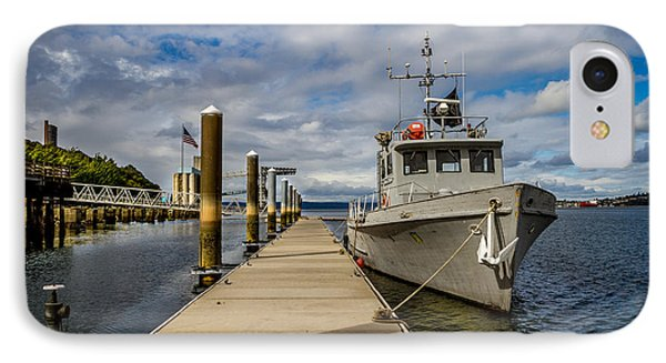 The Pier At The Dock IPhone Case by Rob Green