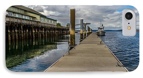 The Pier At The Dock Tacoma Wa IPhone Case by Rob Green
