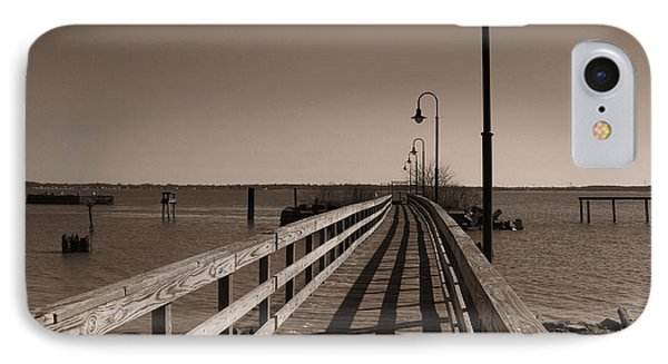The Pier IPhone Case by David Jackson