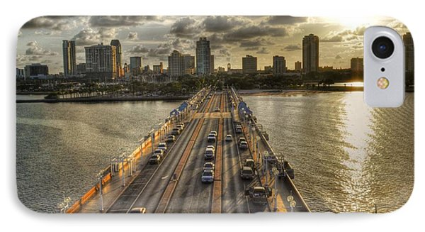 The Pier In Saint Petersburg Florida IPhone Case by Timothy Lowry