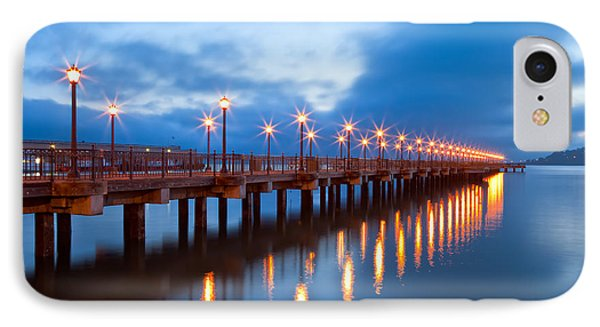 IPhone Case featuring the photograph The Pier by Jonathan Nguyen