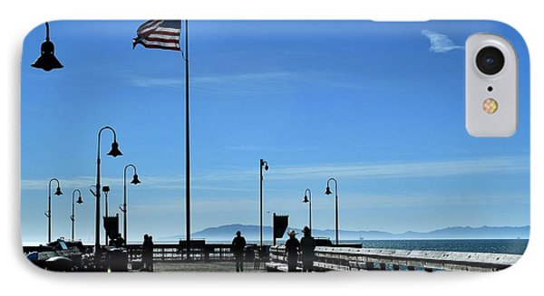 IPhone Case featuring the photograph The Pier by Michael Gordon