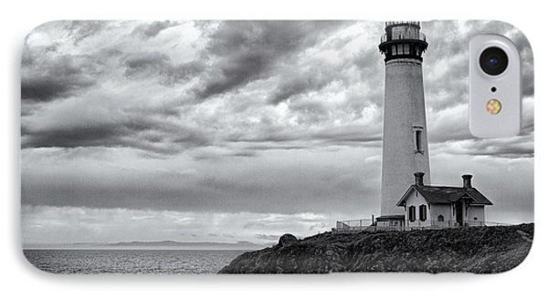 The Pigeon Point Beacon IPhone Case by Eduard Moldoveanu
