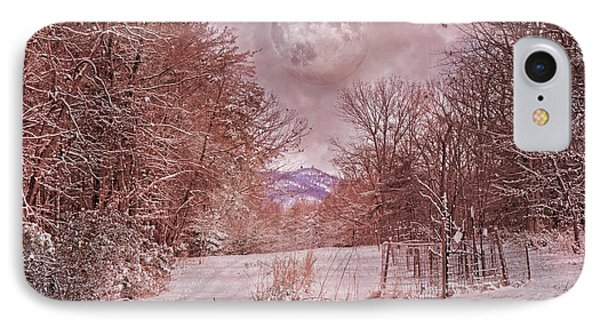The Pink Snow Evening IPhone Case