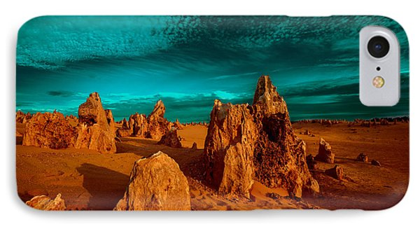 The Pinnacles Dusk IPhone Case by Julian Cook