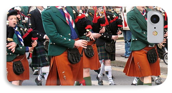 IPhone Case featuring the photograph The Pipers by Suzanne Oesterling