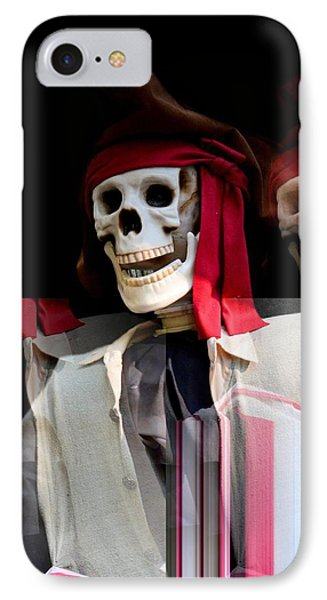 The Pirate's Ghost Phone Case by Maria Urso