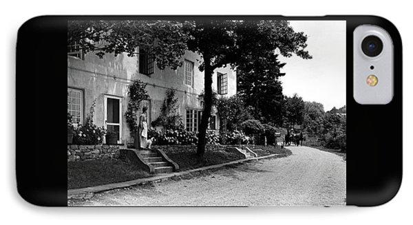 The Platt's House In New Jersey IPhone Case by Samuel H. Gottscho