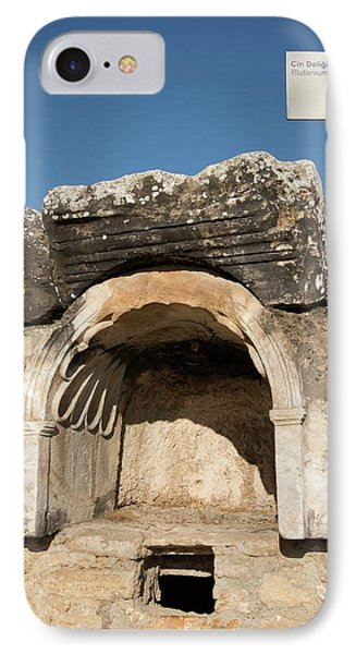 The Plutonion At Hierapolis IPhone Case by David Parker