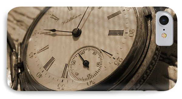 The Pocket Watch Phone Case by Mike McGlothlen