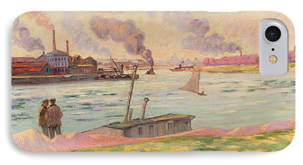 The Pointe D'ivry IPhone Case by Jean Baptiste Armand Guillaumin