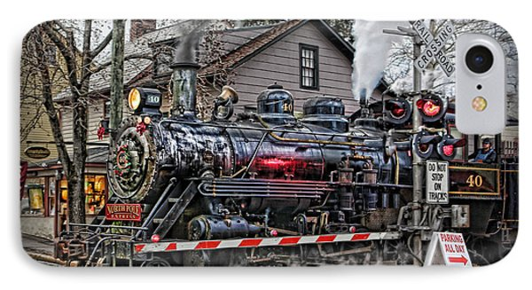 The Polar Express - Steam Locomotive IIi IPhone Case by Lee Dos Santos