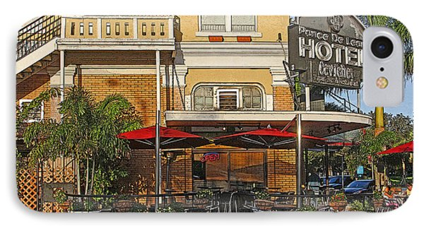 The Ponce De Leon Hotel IPhone Case by HH Photography of Florida