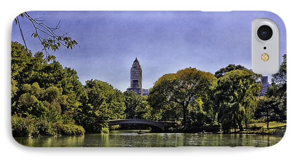 The Pond - Central Park Phone Case by Madeline Ellis