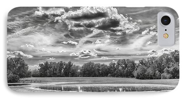IPhone Case featuring the photograph The Pond by Howard Salmon