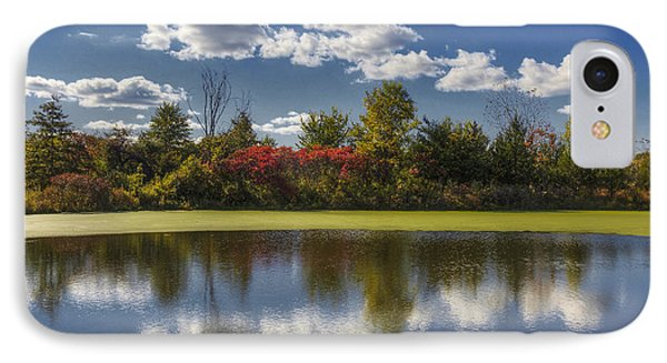 The Pond In Autumn IPhone Case
