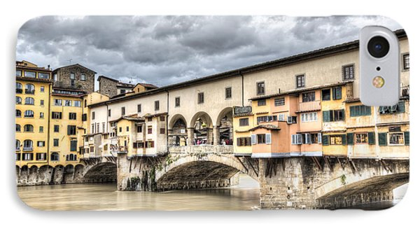 The Ponte Vecchio In Florence IPhone 7 Case