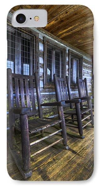 The Porch Phone Case by Debra and Dave Vanderlaan