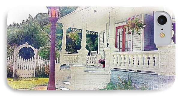 The Porch Lamp Post And The Gate IPhone Case