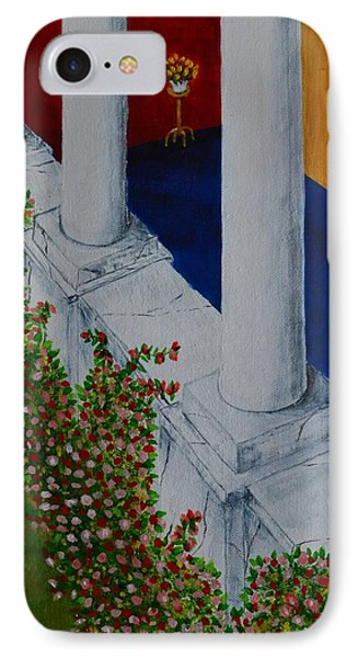 The Porch IPhone Case by Melvin Turner