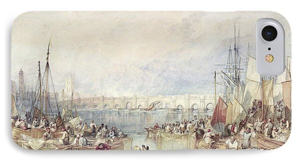 The Port Of London IPhone Case by Joseph Mallord William Turner