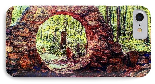 IPhone Case featuring the photograph The Portal To Love Life Peace 1 by Becky Lupe