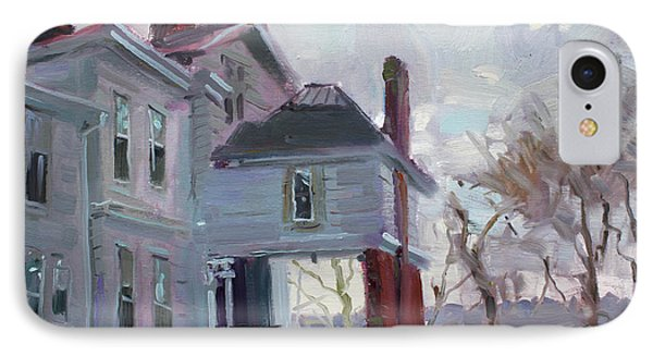 The Porter Mansion IPhone Case by Ylli Haruni