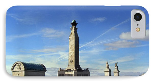 The Portsmouth Naval Memorial Southsea Phone Case by Terri Waters