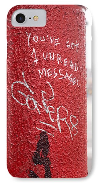 The Post Box With Messages Phone Case by Aston Peters