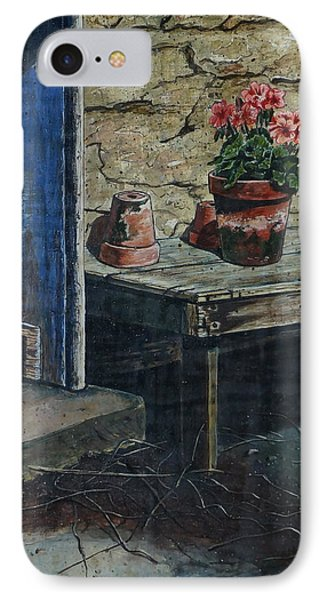 The Potting Bench IPhone Case by William Goldsmith