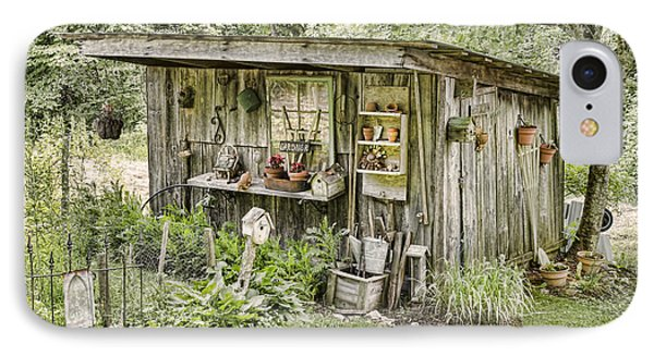 The Potting Shed Phone Case by Heather Applegate