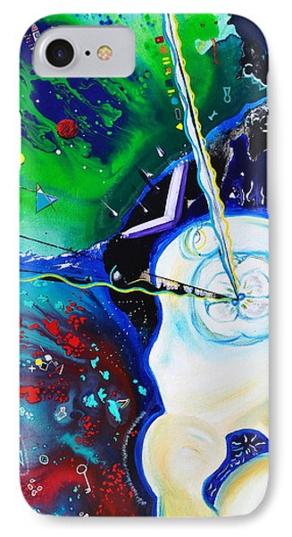 IPhone Case featuring the painting The Power Of Thought by Christine Ricker Brandt