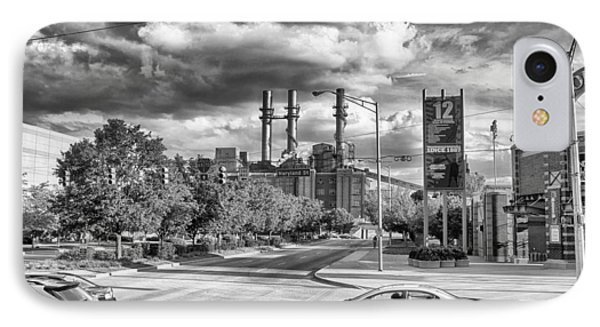 IPhone Case featuring the photograph The Power Station by Howard Salmon
