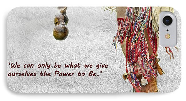 The Power To Be IPhone Case by Joanne Brown