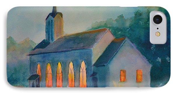 The Prayer Meeting Phone Case by Terri Cowart