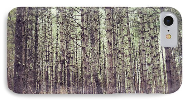 IPhone Case featuring the photograph The Preaching Of The Pines by Kerri Farley
