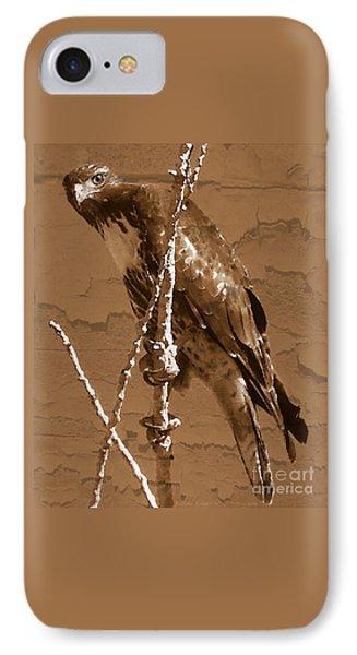 The Predator Digital Painting IPhone Case by Bobbee Rickard
