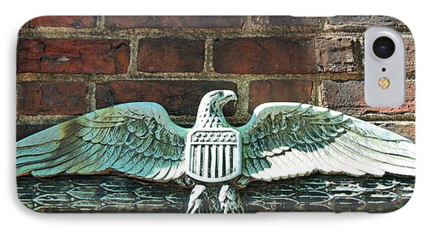 The Presidential Eagle Guards Dumbarton House IPhone Case by Cora Wandel