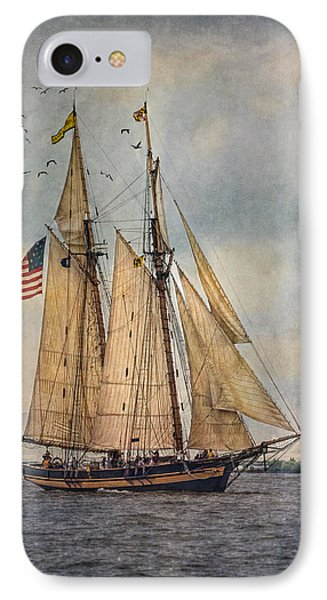 The Pride Of Baltimore II Phone Case by Dale Kincaid
