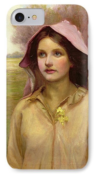 The Primrose Girl IPhone Case by William Ward Laing